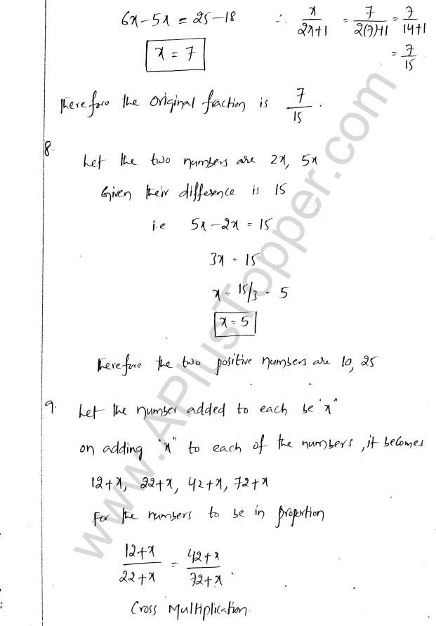 ML Aggarwal ICSE Solutions for Class 8 Maths Chapter 12 Linear Equations and Inqualities In one Variable 16