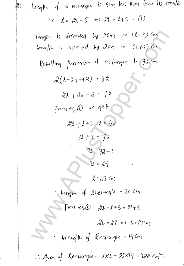ML Aggarwal ICSE Solutions for Class 8 Maths Chapter 12 Linear Equations and Inqualities In one Variable 27