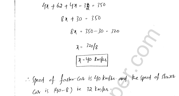 ML Aggarwal ICSE Solutions for Class 8 Maths Chapter 12 Linear Equations and Inqualities In one Variable 31
