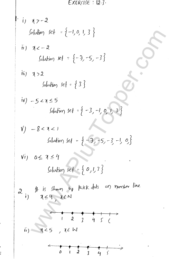 ML Aggarwal ICSE Solutions for Class 8 Maths Chapter 12 Linear Equations and Inqualities In one Variable 32