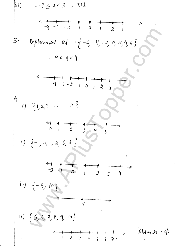 ML Aggarwal ICSE Solutions for Class 8 Maths Chapter 12 Linear Equations and Inqualities In one Variable 33