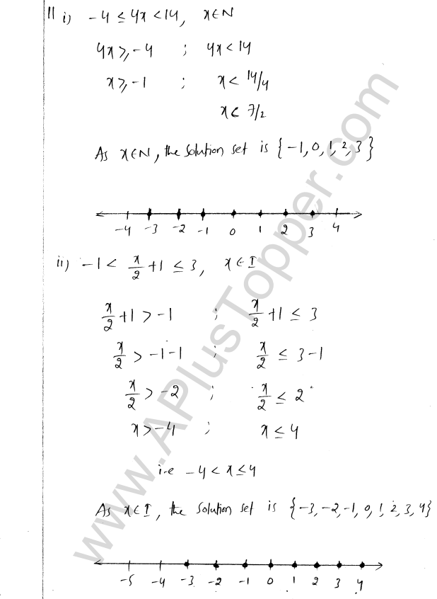 ML Aggarwal ICSE Solutions for Class 8 Maths Chapter 12 Linear Equations and Inqualities In one Variable 40