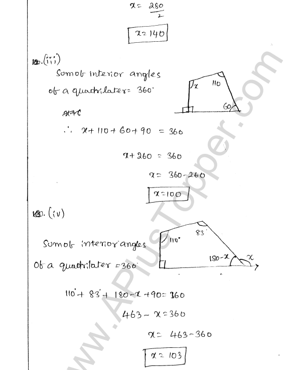 ML Aggarwal ICSE Solutions for Class 8 Maths Chapter 13 Understanding Quadrilaterals 10