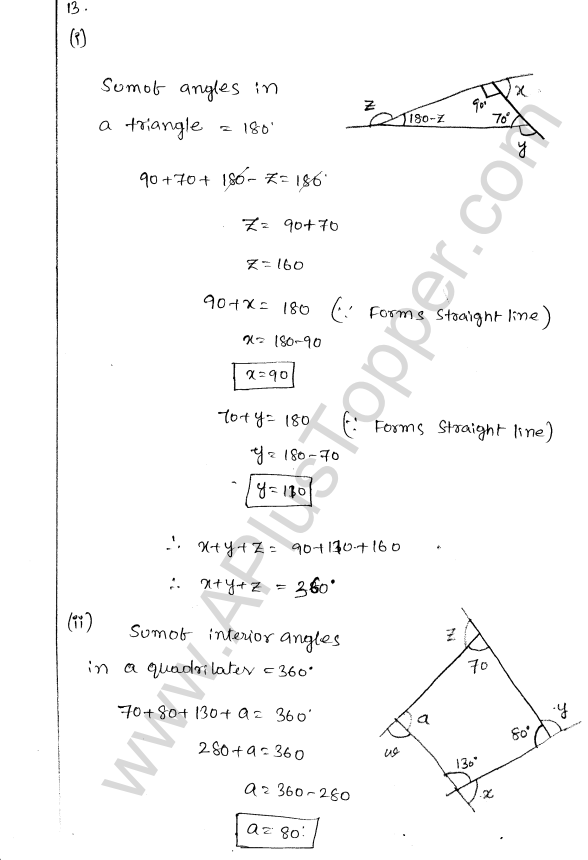 ML Aggarwal ICSE Solutions for Class 8 Maths Chapter 13 Understanding Quadrilaterals 11