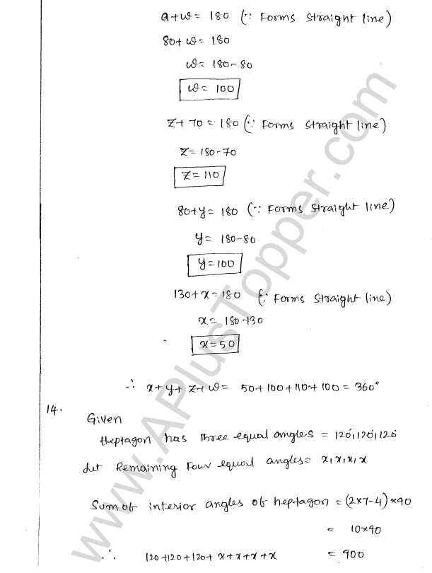 ML Aggarwal ICSE Solutions for Class 8 Maths Chapter 13 Understanding Quadrilaterals 12