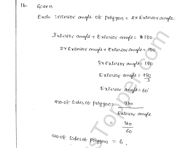 ML Aggarwal ICSE Solutions for Class 8 Maths Chapter 13 Understanding Quadrilaterals 14