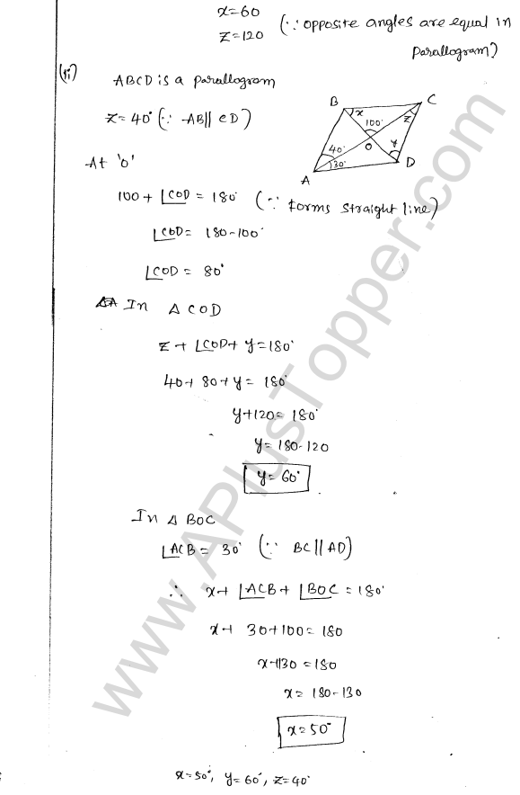 ML Aggarwal ICSE Solutions for Class 8 Maths Chapter 13 Understanding Quadrilaterals 16
