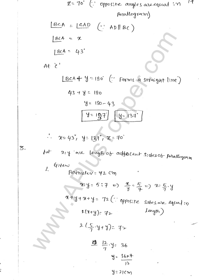 ML Aggarwal ICSE Solutions for Class 8 Maths Chapter 13 Understanding Quadrilaterals 18