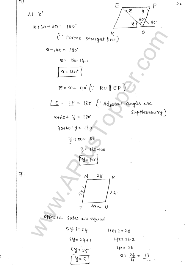 ML Aggarwal ICSE Solutions for Class 8 Maths Chapter 13 Understanding Quadrilaterals 21
