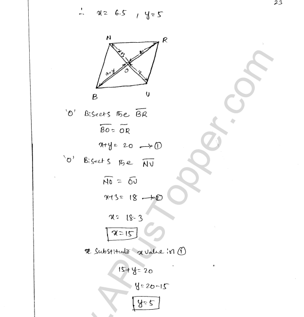 ML Aggarwal ICSE Solutions for Class 8 Maths Chapter 13 Understanding Quadrilaterals 22
