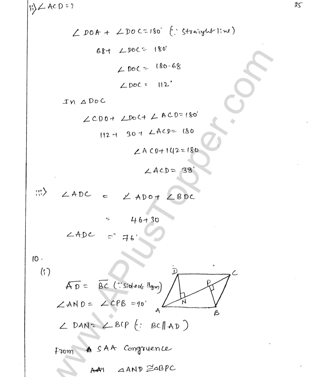ML Aggarwal ICSE Solutions for Class 8 Maths Chapter 13 Understanding Quadrilaterals 24