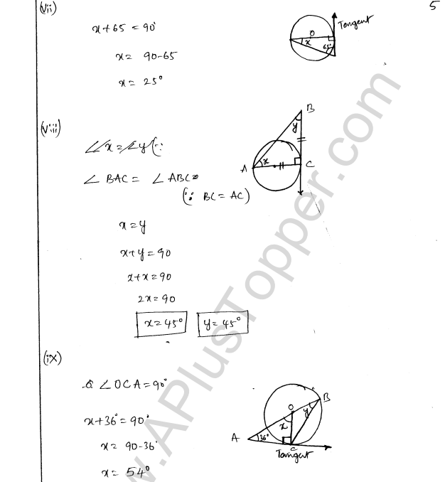 ML Aggarwal ICSE Solutions for Class 8 Maths Chapter 15 Circle 5