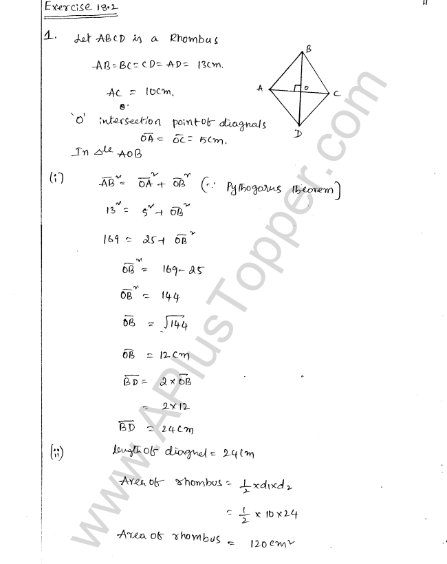 ML Aggarwal ICSE Solutions for Class 8 Maths Chapter 18 Mensuration 11