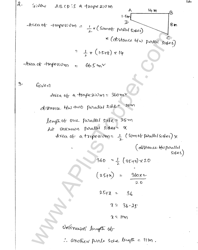 ML Aggarwal ICSE Solutions for Class 8 Maths Chapter 18 Mensuration 12