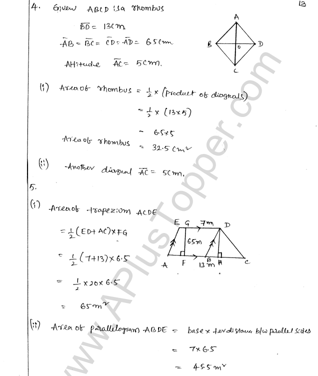 ML Aggarwal ICSE Solutions for Class 8 Maths Chapter 18 Mensuration 13