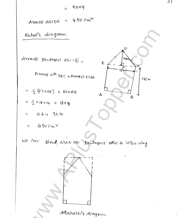 ML Aggarwal ICSE Solutions for Class 8 Maths Chapter 18 Mensuration 21