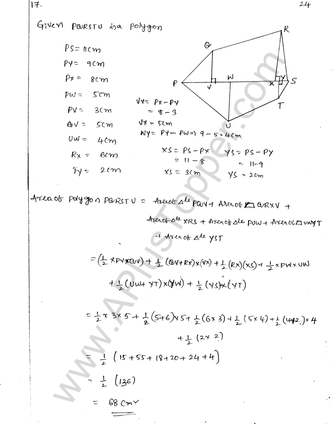 ML Aggarwal ICSE Solutions for Class 8 Maths Chapter 18 Mensuration 24