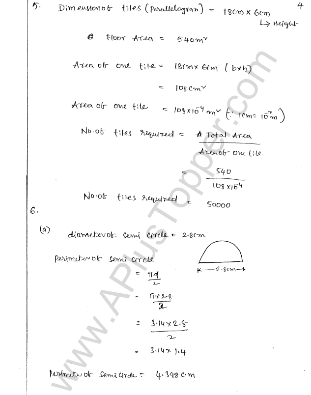 ML Aggarwal ICSE Solutions for Class 8 Maths Chapter 18 Mensuration 4