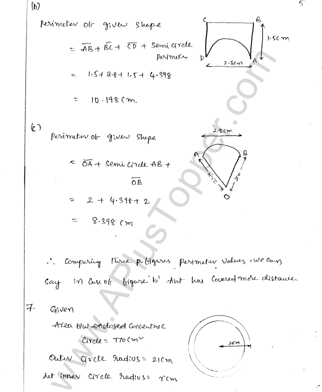 ML Aggarwal ICSE Solutions for Class 8 Maths Chapter 18 Mensuration 5