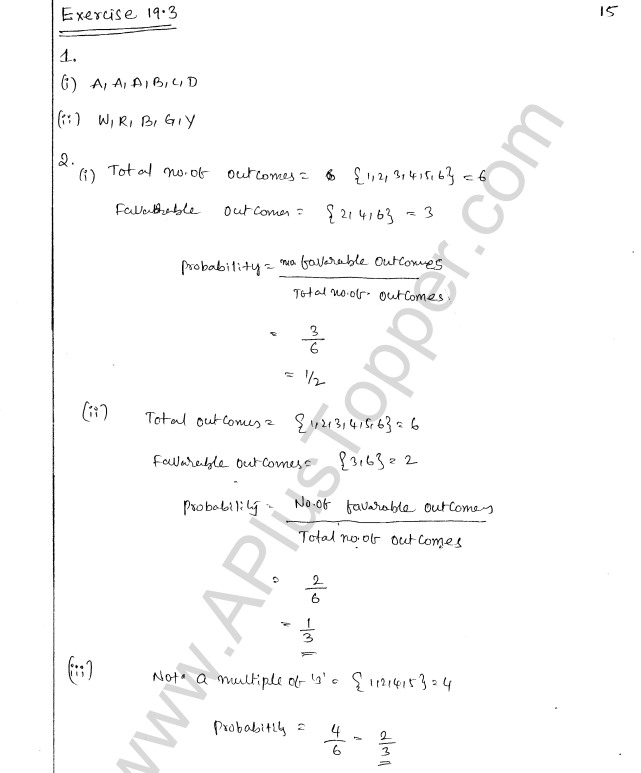 ML Aggarwal ICSE Solutions for Class 8 Maths Chapter 19 Data Handiling 15