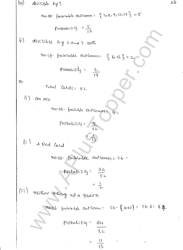 ML Aggarwal ICSE Solutions for Class 8 Maths Chapter 19 Data Handiling 20