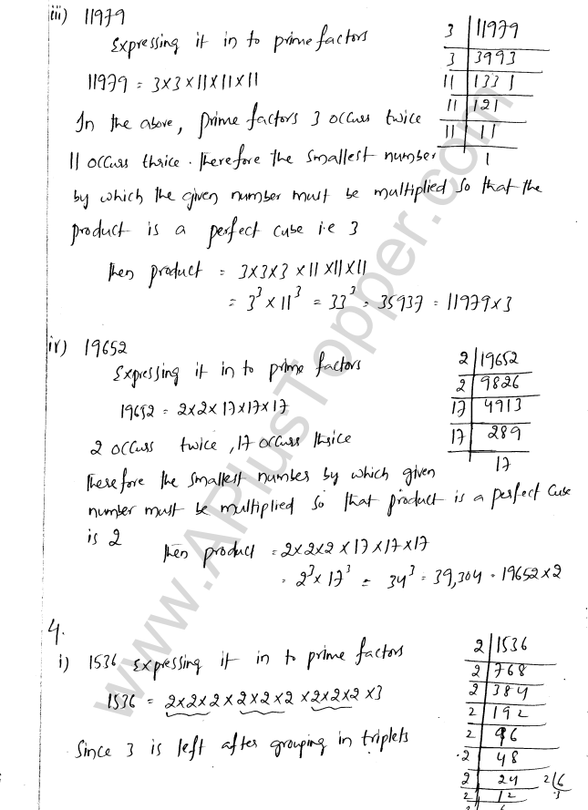 ML Aggarwal ICSE Solutions for Class 8 Maths Chapter 4 Cubes and Cube Roots 4