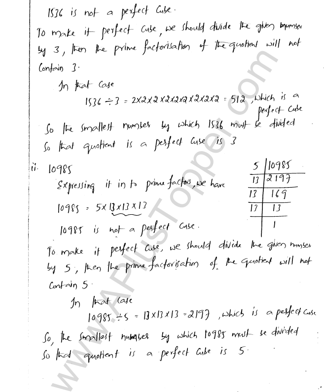 ML Aggarwal ICSE Solutions for Class 8 Maths Chapter 4 Cubes and Cube Roots 5