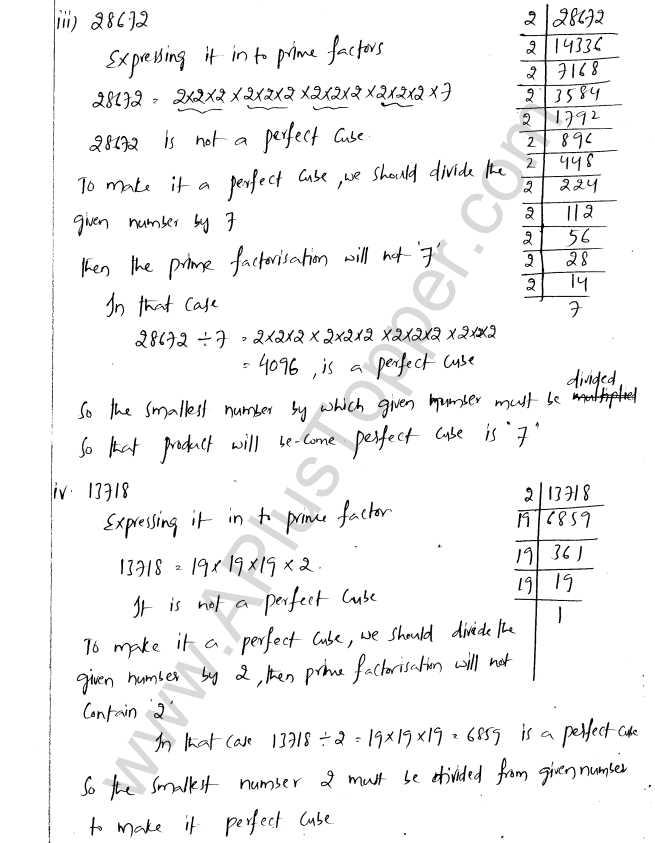 ML Aggarwal ICSE Solutions for Class 8 Maths Chapter 4 Cubes and Cube Roots 6
