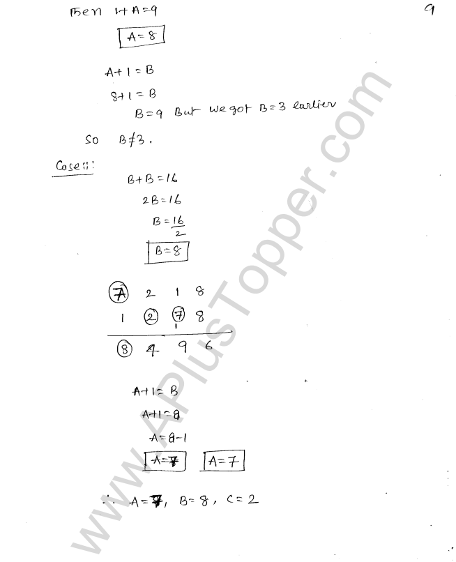 ML Aggarwal ICSE Solutions for Class 8 Maths Chapter 5 Playing with Numbers 10