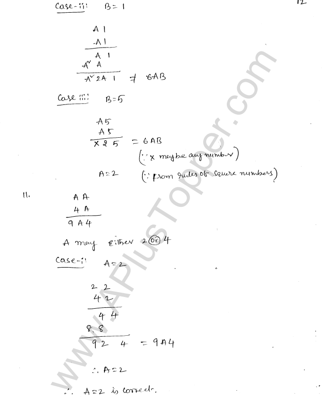 ML Aggarwal ICSE Solutions for Class 8 Maths Chapter 5 Playing with Numbers 14