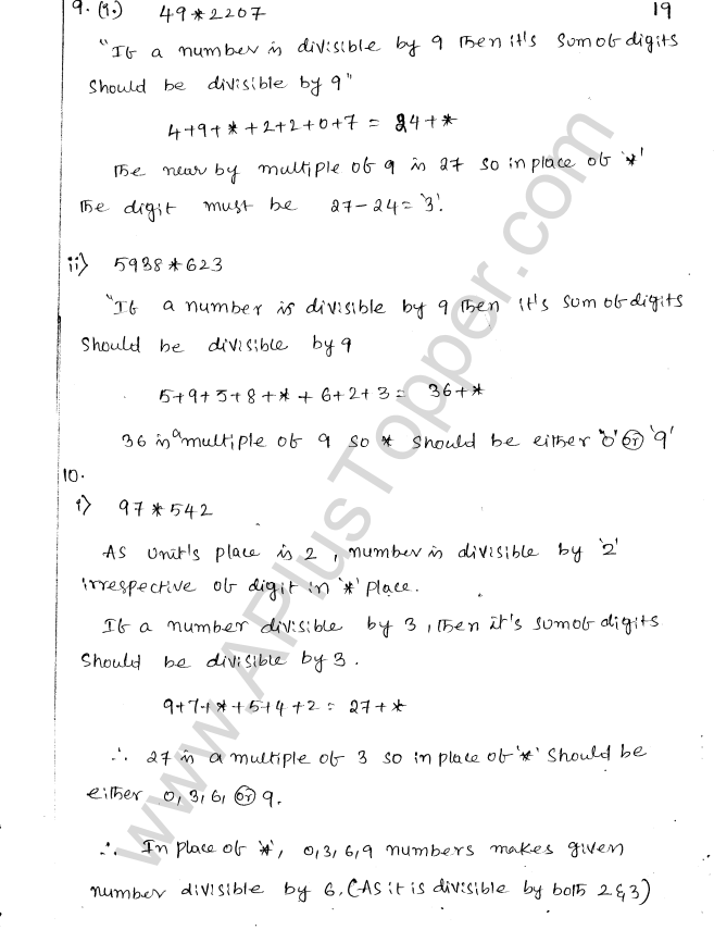 ML Aggarwal ICSE Solutions for Class 8 Maths Chapter 5 Playing with Numbers 22