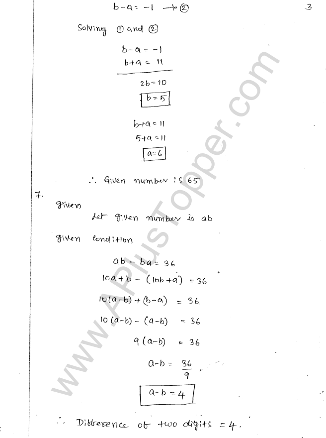 ML Aggarwal ICSE Solutions for Class 8 Maths Chapter 5 Playing with Numbers 3