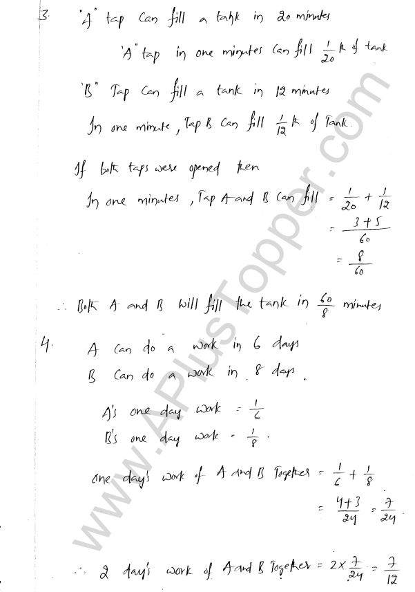 ML Aggarwal ICSE Solutions for Class 8 Maths Chapter 9 Direct and Inverse Variation 16