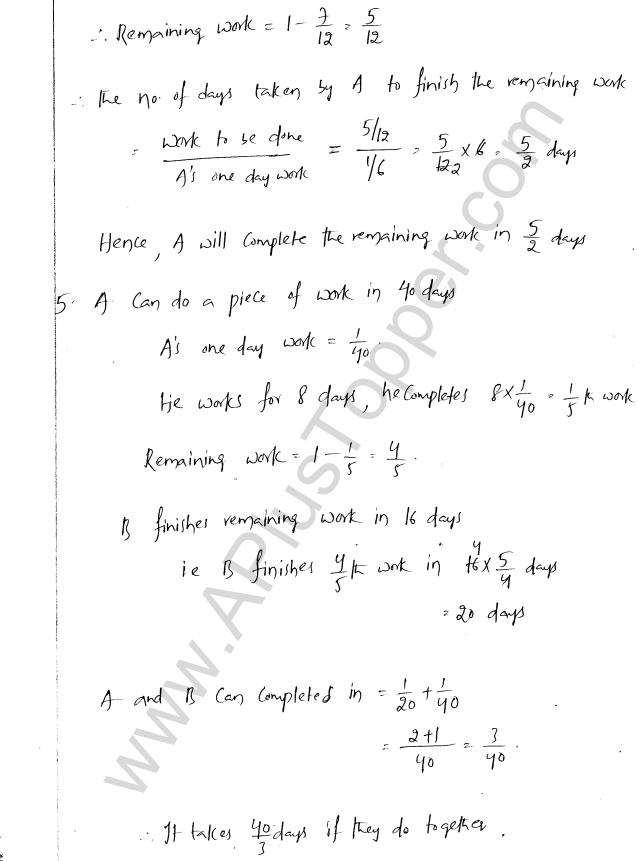 ML Aggarwal ICSE Solutions for Class 8 Maths Chapter 9 Direct and Inverse Variation 17