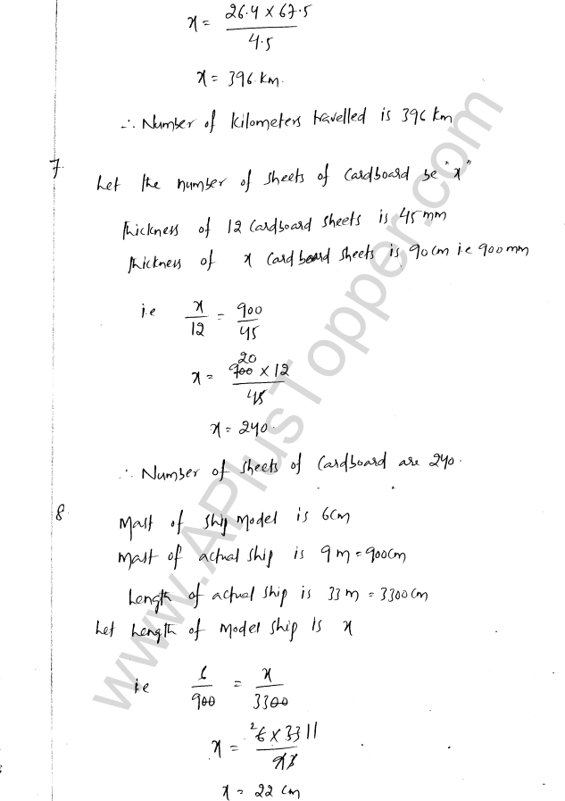 ML Aggarwal ICSE Solutions for Class 8 Maths Chapter 9 Direct and Inverse Variation 4
