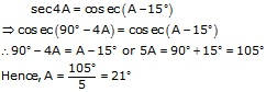 RS Aggarwal Solutions Class 10 Chapter 7 Trigonometric Identities 14.1