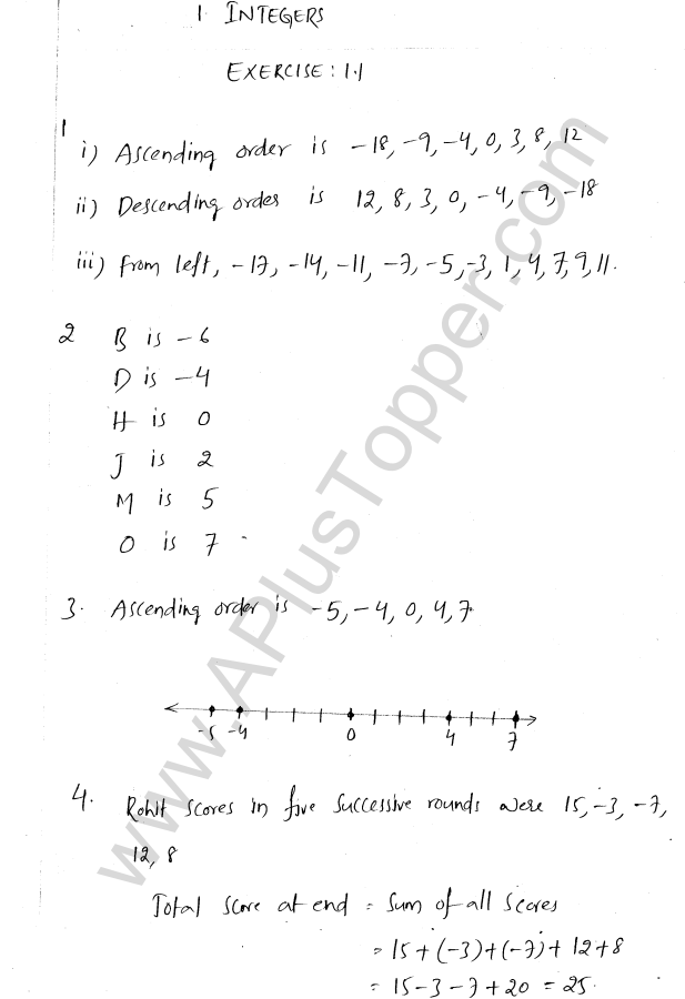 ml-aggarwal-icse-solutions-for-class-7-maths-chapter-1-integers-1