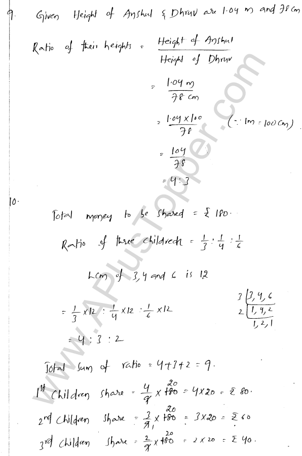 ml-aggarwal-icse-solutions-for-class-7-maths-chapter-6-ratio-and-proportion-6