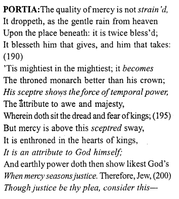 Merchant of Venice Act 4, Scene 1 Translation Meaning Annotations 18