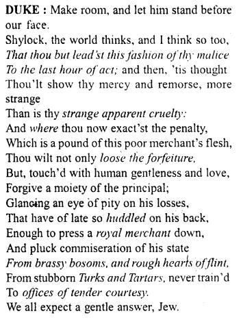 Merchant Of Venice Workbook Answer Act 4 Scene 1 A Plu Topper Tempest Paraphrase