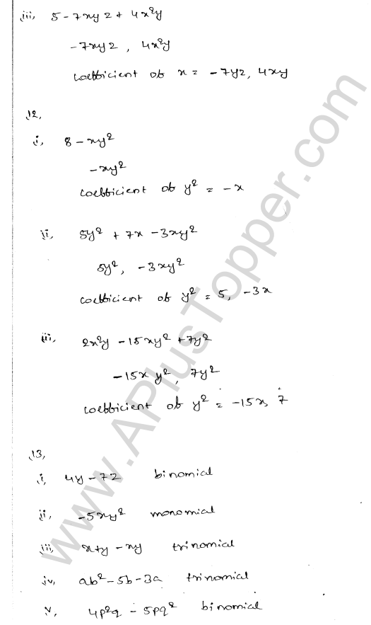 ml-aggarwal-icse-solutions-for-class-7-maths-chapter-8-algebraic-expressions-5