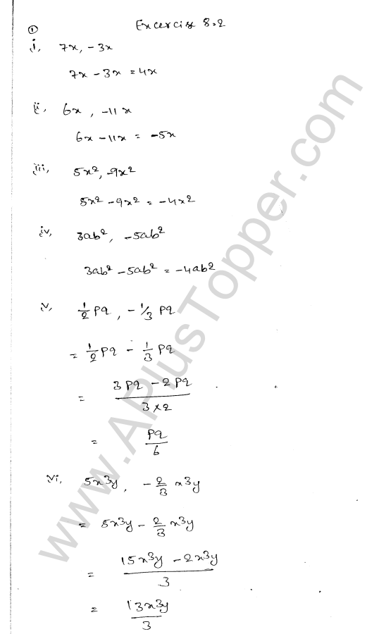 ml-aggarwal-icse-solutions-for-class-7-maths-chapter-8-algebraic-expressions-8