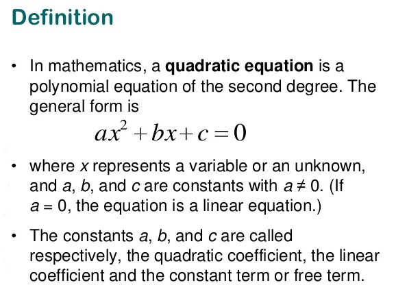 RS Aggarwal Solutions Class 10 Chapter 10 Quadratic Equations 10A a1