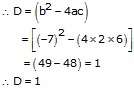 RS Aggarwal Solutions Class 10 Chapter 10 Quadratic Equations 10B 1.1