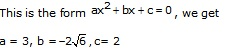 RS Aggarwal Solutions Class 10 Chapter 10 Quadratic Equations Q5.2