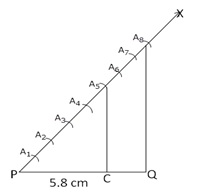 RS Aggarwal Solutions Class 10 Chapter 13 Constructions 13a 2.1