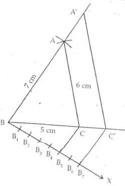 RS Aggarwal Solutions Class 10 Chapter 13 Constructions 13a 8.1