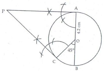 RS Aggarwal Solutions Class 10 Chapter 13 Constructions 13b 4.1