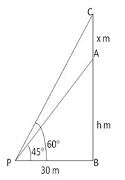 RS Aggarwal Solutions Class 10 Chapter 14 Height and Distance 14 10.1