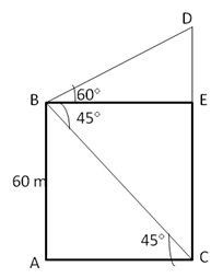 RS Aggarwal Solutions Class 10 Chapter 14 Height and Distance 14 16.1